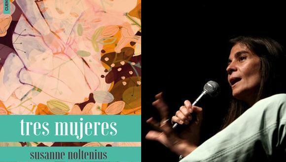 """Susanne Noltenius presentará hoy su libro """"Tres mujeres"""""""