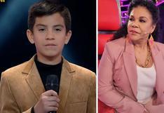 """""""La Voz Kids"""": Participante de 12 años sorprende a entrenadores tras confesar que está enamorado"""