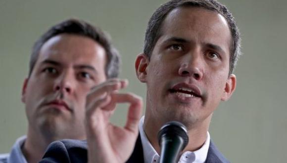 """Juan Guaidó calificó de """"secuestro"""" la captura de su colaborador más cercano y repitió que Venezuela vive bajo """"una dictadura""""."""