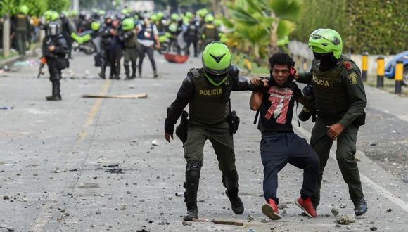 Human Rights Watch denunció el uso excesivo de la fuerza durante las protestas. (Getty Images).