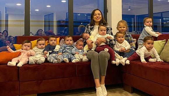 Con ayuda de su esposo, Christina Ozturk espera tener al menos 100 hijos para formar la familia más grande del mundo. (Foto: galipozturkofficial / Instagram)