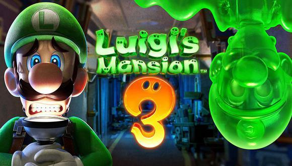 Luigi's Mansion 3 se lanzó para Nintendo Switch en 2019. (Difusión)