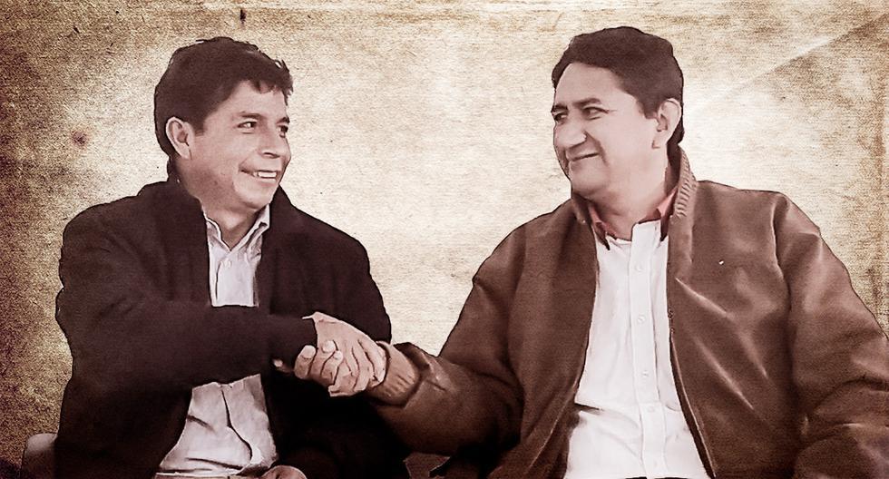 """El pasado 15 de junio, días después de la segunda vuelta, Cerrón publicó esta foto en su cuenta de Twitter con el mensaje: """"la unidad del Partido, el gobierno y el pueblo, garantiza la verdadera democracia""""."""