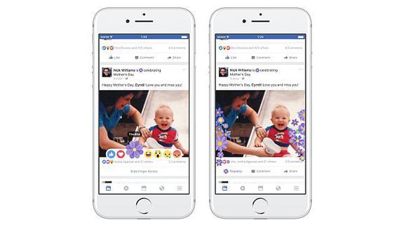 Facebook preparó un 'arsenal' para celebrar el Día de la Madre