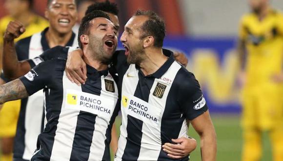 Hernán Barcos marcó ante Cantolao su primer gol en la Fase 2 de la Liga 1. (Foto: Jesús Saucedo / GEC)