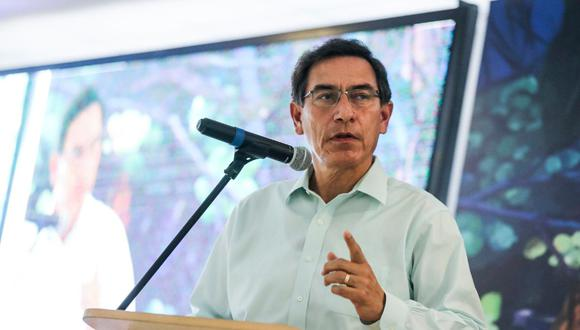 Presidente Martín Vizcarra señaló que sus decisiones han sido democráticas y constitucionales  (Foto: Presidencia)