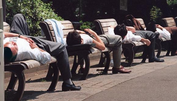 De acuerdo con una encuesta realizada en Japón en 1989, casi el 46% de los jefes de secciones y 66% de los jefes de departamentos en las compañías grandes pensaban que morirían de tanto trabajar. (Foto: Getty Images)