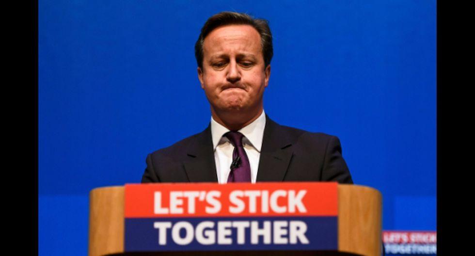 ¿David Cameron renunciará a su cargo si gana el Sí en Escocia?