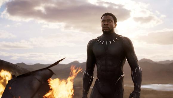"""Chadwick Boseman en una escena de """"Black Panther"""". (Foto: AP)"""