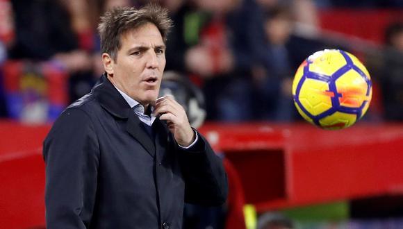 "Sevilla destituyó a Berizzo por ""mala racha del equipo"". (Foto: AFP)"