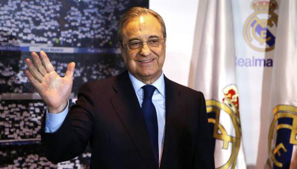 Florentino Perez solicita reforma del fútbol ante la pandemia. (Foto: Agencias)