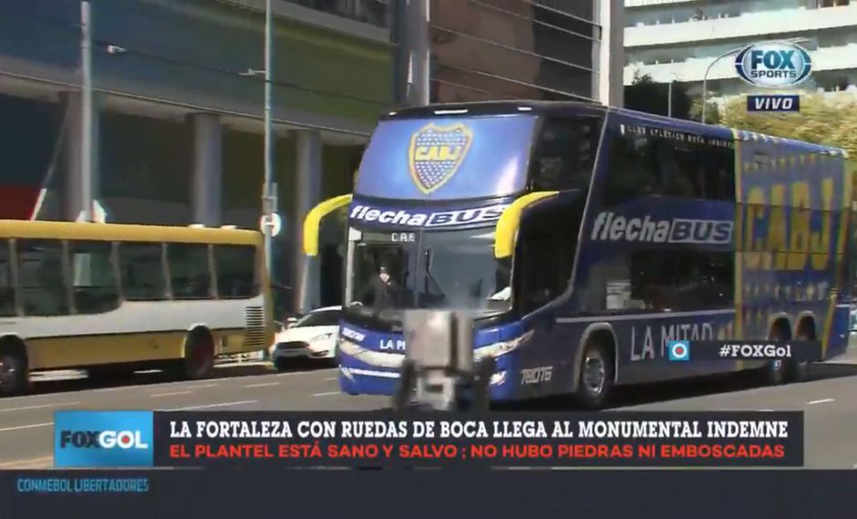 (Foto: captura de pantalla / Fox Sports)