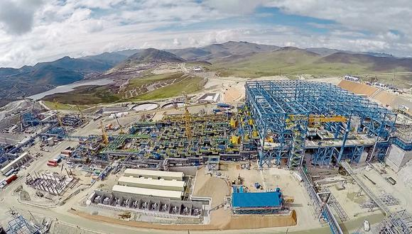 Las Bambas es una mina de cobre ubicado en las provincias de Grau y Cotabambas en Apurímac.