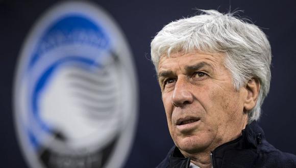 Gian Piero Gasperini es entrenador de Atalanta desde la temporada 2016. (Foto: AFP)