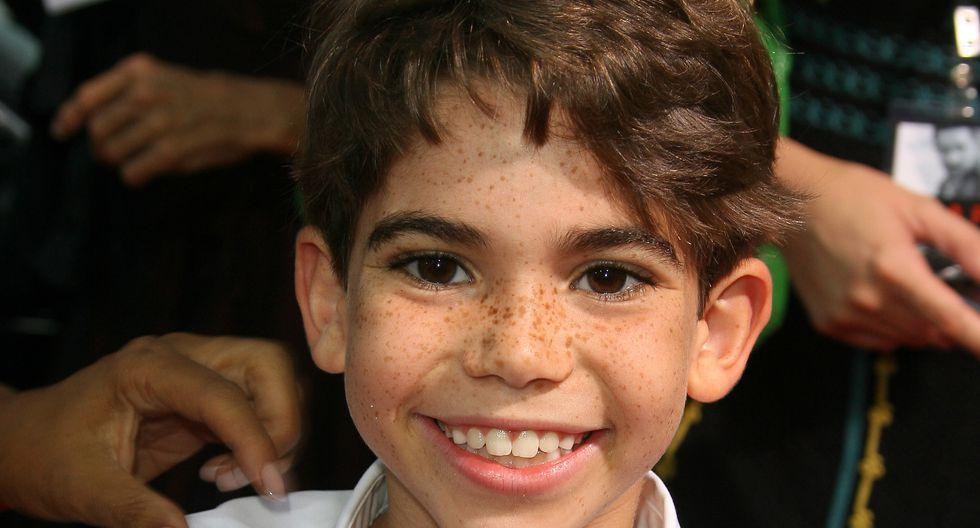 """El joven actor norteamericano hizo su primera participación en el cine a los nueve años. Cameron Boyce alcanzó la fama con su papel en la serie """"Jessi"""" en Disney Channel.  (Fotos: AFP)"""