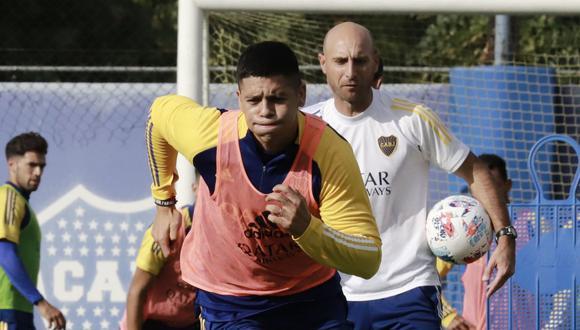 Marcos Rojo llegó a Boca Juniors procedente del Manchester United. (Foto: Boca Juniors)