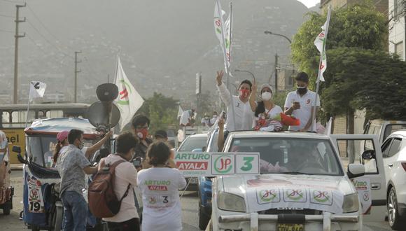 """Juntos por el Perú también pidió a la ONPE cesar la """"aparente parcialización"""" que, según el partido, favorece a algunas organizaciones políticas. (Foto: José Rojas Bashe / @photo.gec)"""