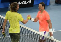 ¡Rafael Nadal eliminado del Australian Open! Cayó por 3-2 frente a Stefanos Tsitsipas en cuartos de final
