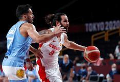 Argentina cayó ante España y pende de un hilo su clasificación en Tokio 2020