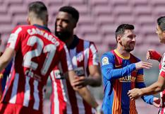Barcelona vs. Atlético de Madrid: el tierno abrazo entre Lionel Messi y Luis Suárez [FOTO]