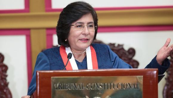 Marianella Ledesma indicó que si bien el TC es el máximo intérprete de la Constitución, este no solo se circunscribe a dicho organismo. (Foto: GEC)