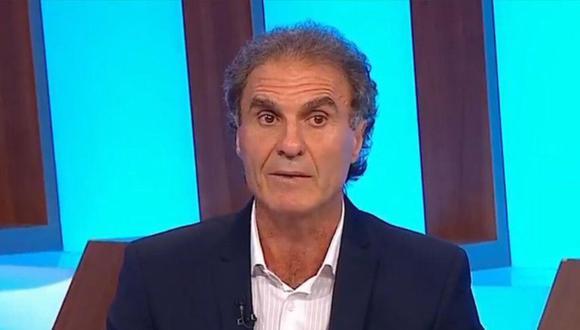 Óscar Ruggeri, cuando formaba parte de 90 minutos por Fox, se burló de aquellos que buscaban ayuda psicológica | Foto: Fox Sports