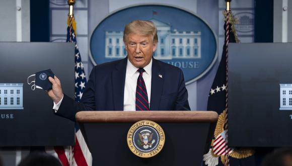 Donald Trump, el presidente de Estados Unidos, manifestó su optimismo ante la posibilidad de que su país halle la vacuna contra el coronavirus pronto. (Foto de archivo: AP)