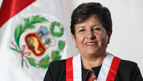 La congresista Rosario Paredes (Acción Popular) es acusado de haberle recortado el sueldo a Milagritos Chacón. Su bancada marca distancia y pide que el caso lo vea la Comisión de Ética. (Foto: Congreso)