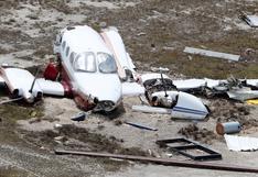 La destrucción del aeropuerto de Gran Bahama por la furia del huracán Dorian
