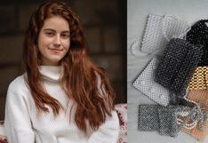 Alessa, la joven emprendedora que apoya a un hogar de madres solteras con sus bolsos hechos a mano