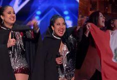 America's Got Talent: gemelas peruanas fueron ovacionadas por Simon Cowell tras su presentación en vivo