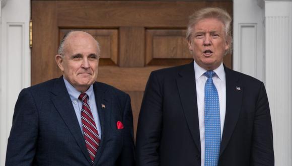 Rudy Giuliani   Coronavirus USA   Donald Trump anuncia que su abogado dio  positivo por covid-19   MUNDO   EL COMERCIO PERÚ