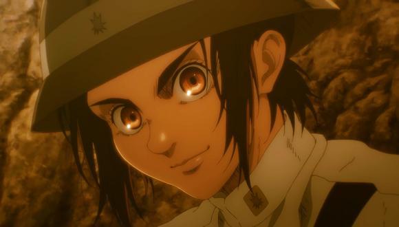 """Gabi Braun, niña soldado de Marley; el enemigo al que los protagonistas de """"Atack on Titan"""" (""""Shingeki no Kyojin"""") buscarán derrotar. Foto: Crunchyroll/ MAPPA."""