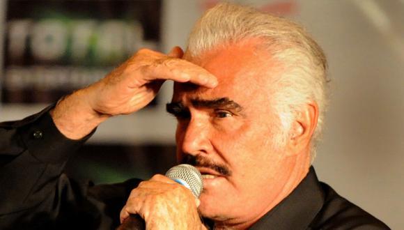 Familia de Vicente Fernández da detalles sobre el estado del cantante mexicano. (Foto: Mauricio Dueñas / AFP)