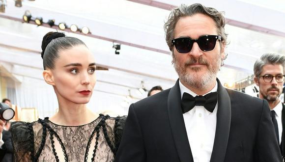 Joaquin Phoenix y Rooney Mara estarían a la espera de su primer hijo. (Foto: AFP)