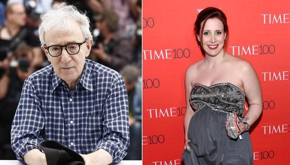 Woody Allen y Dylan Farrow. (Foto: Agencias)