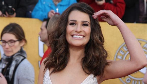 Lea Michele está embarazada, fruto de su matrimonio con Zandy Reich. (Foto: AFP)