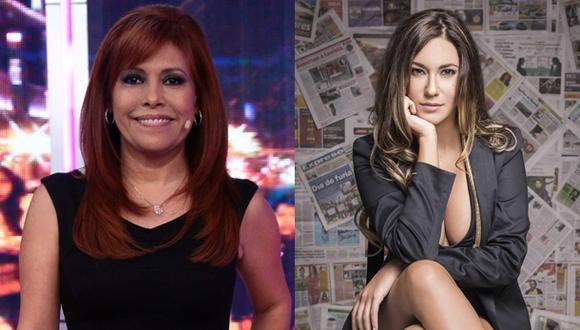 Magaly Medina anuncia a Tilsa Lozano en su set para este sábado