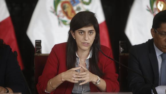 María Antonieta Alva, titular del MEF. (Foto: GEC)