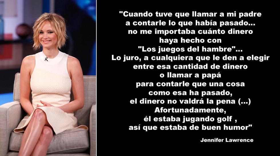 Jennifer Lawrence y 10 frases sobre el 'celebgate' - 1