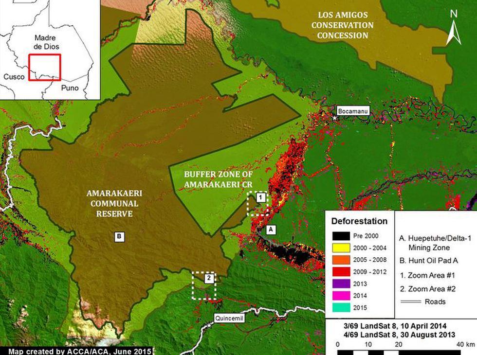Deforestación avanza en zona reservada de Madre de Dios - 4