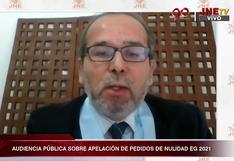 """Ronald Gamarra ante el JNE: """"Fuerza Popular no tiene un caso para presentar seriamente"""""""