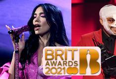 Brit Awards 2021:  Dua Lipa, Billie Eilish, The Weeknd, Harry Styles y más ganadores de la gala