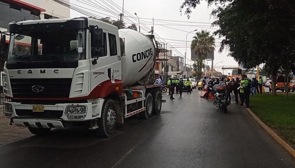 El accidente ocurrió en la cuadra 19 de la avenida Caminos del Inca. (Foto: Municipalidad de Surco)