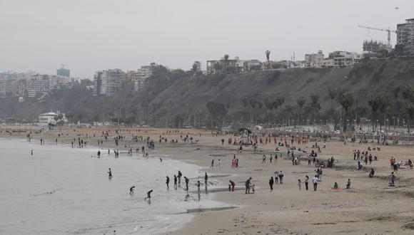 Las playas no deben presentar aglomeraciones. (Foto: GEC)
