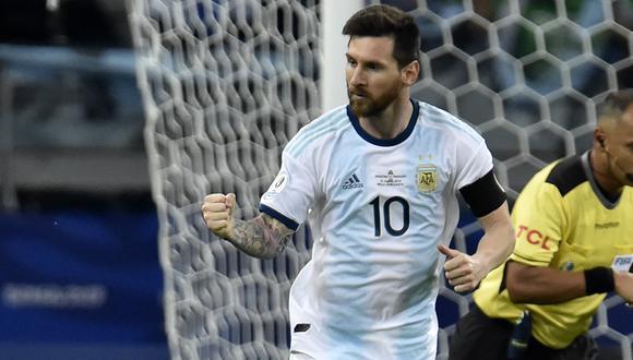 Lionel Messi fue expulsado en la última Copa América. (Foto. AFP)