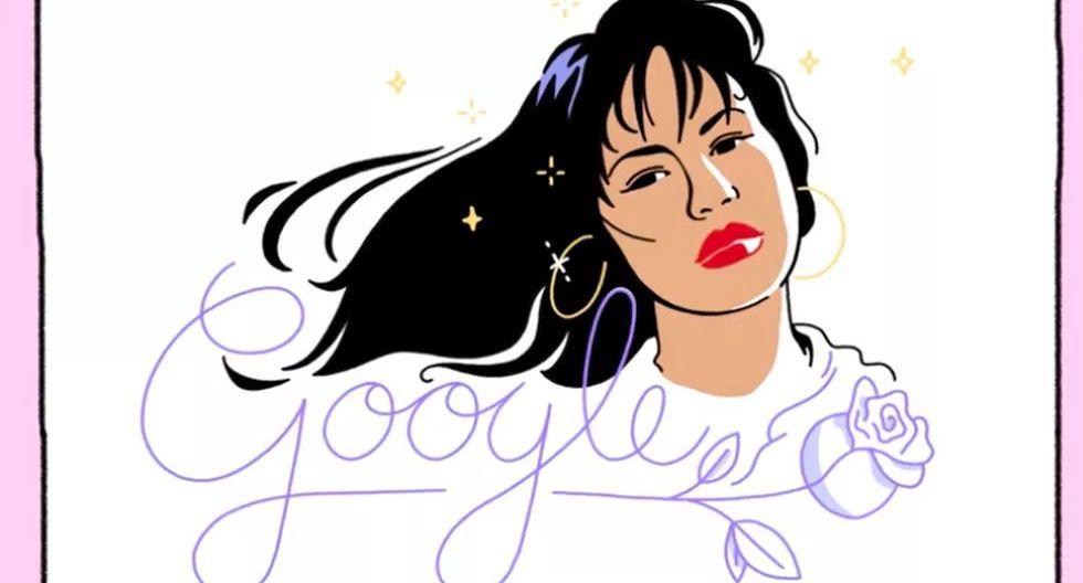 El 17 de octubre de 1989, Selena Quintanilla-Pérez lanzó su primer álbum como intérprete solista con la disquera EMI Latin. El 17 de octubre de 2017, Google conmemoró esa fecha al homenajear a la cantante. (Captura de pantalla)