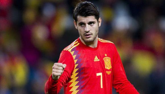Morata fue una de las figuras de España en la clasificación ante Croacia. (Foto: Getty Images)