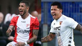 Selección peruana: Emmen de Sergio Peña y Benevento de Lapadula pelean por no descender