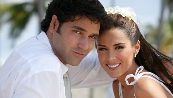 Jacky Bracamontes y Valentino Lanús irradiaban mucho amor, pero las infidelidades del actor acabaron con la relación (Foto: Televisa)